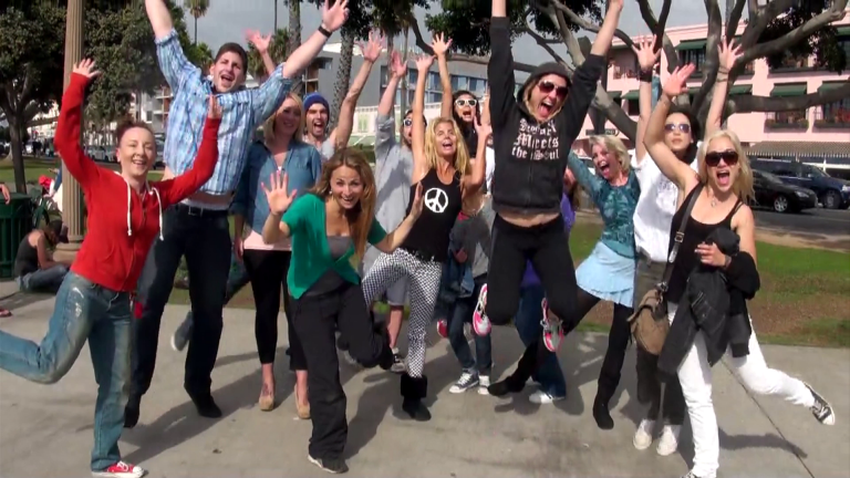 Santa Monica Flash Mobs